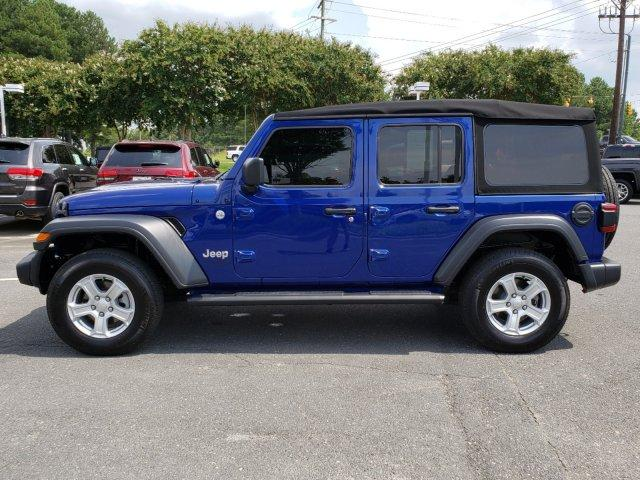 Pre-Owned 2018 Jeep Wrangler Unlimited Sport S 4x4