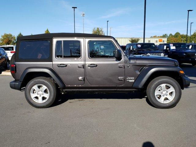 New 2020 JEEP Wrangler Unlimited Sport S 4x4