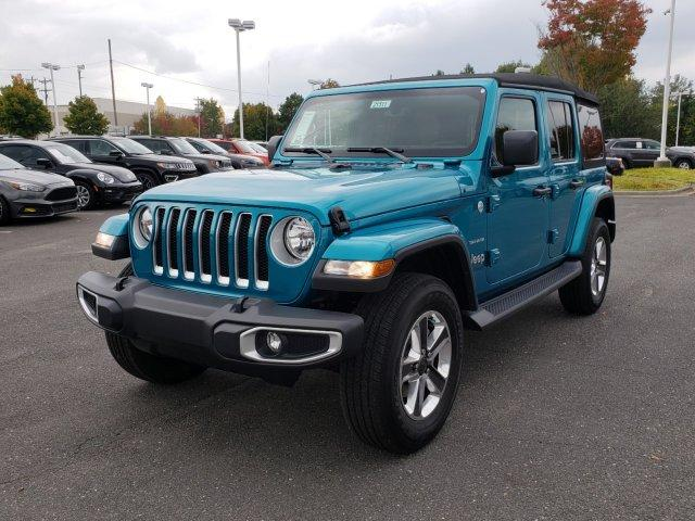 New 2020 JEEP Wrangler Unlimited Sahara 4x4