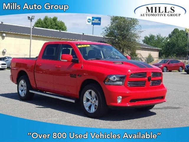 Certified Pre-Owned 2016 Ram 1500 4WD Crew Cab 140.5 Sport