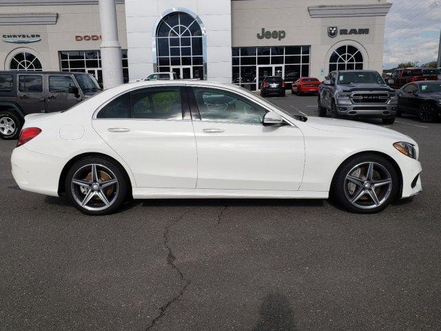 Pre-Owned 2015 Mercedes-Benz C-Class 4dr Sdn C 300 Sport RWD