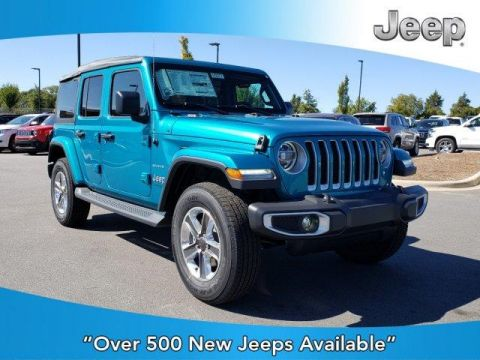 New 2020 JEEP Wrangler Unlimited Sahara 4x4 With Navigation