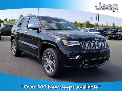 New 2020 JEEP Grand Cherokee Overland With Navigation