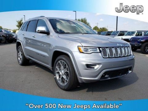 New 2020 JEEP Grand Cherokee Overland 4x2 With Navigation