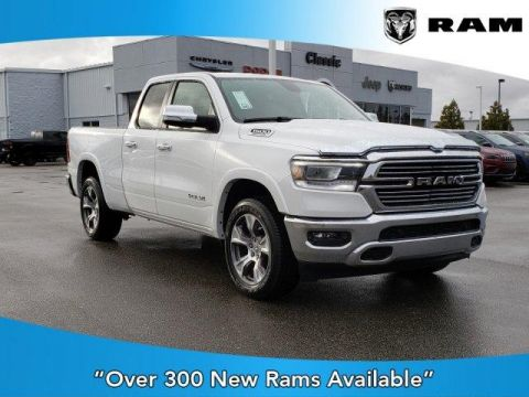 2020 RAM All-New  1500 Laramie 4x4 Quad Cab 6'4 Box