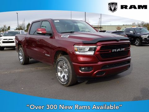 New 2020 RAM 1500 Big Horn With Navigation