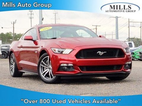 Pre-Owned 2016 Ford Mustang 2dr Fastback GT Premium