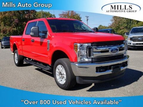 Pre-Owned 2019 Ford Super Duty F-250 SRW XLT 4WD Crew Cab 6.75' Box