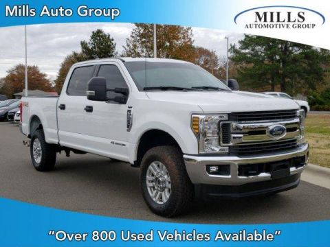 Pre-Owned 2018 Ford Super Duty F-250 SRW XLT 4WD Crew Cab 6.75' Box