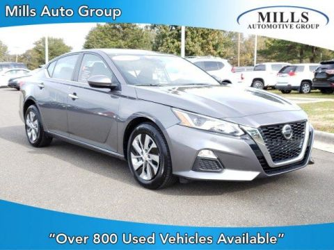 Pre-Owned 2019 Nissan Altima 2.5 S AWD Sedan