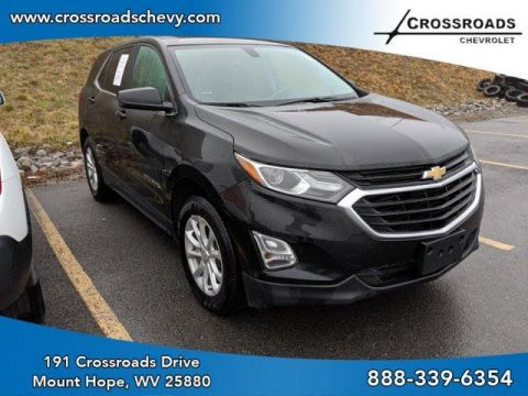Pre-Owned 2018 Chevrolet Equinox AWD 4dr LT w/1LT