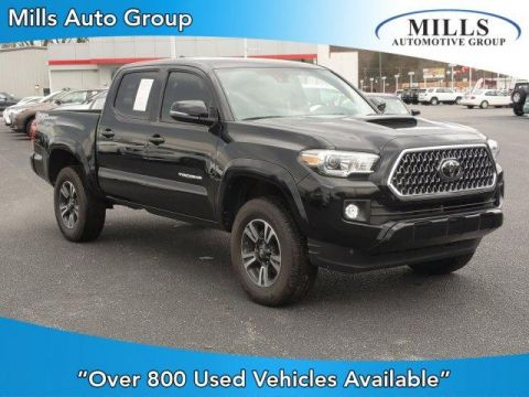Pre-Owned 2019 Toyota Tacoma TRD Sport Double Cab 5' Bed V6 AT
