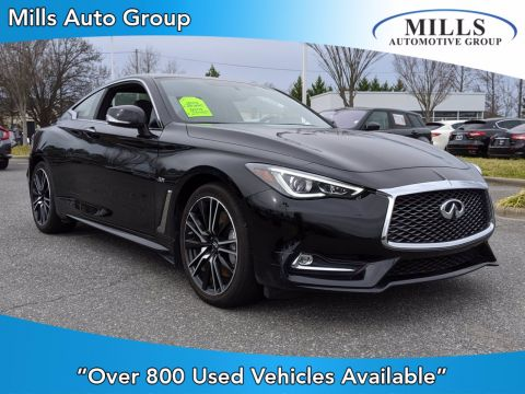 Pre-Owned 2018 INFINITI Q60 SPORT With Navigation & AWD