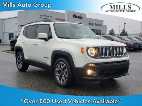 Pre-Owned 2018 Jeep Renegade Latitude FWD
