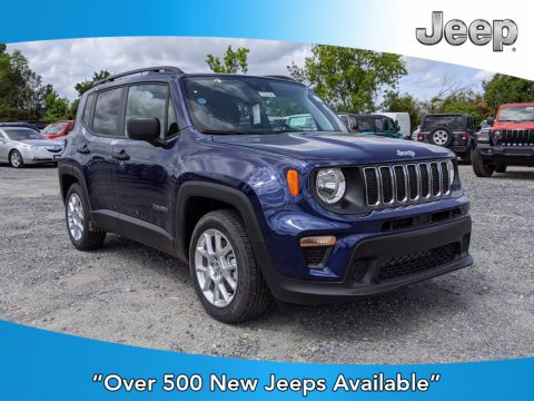 New 2020 JEEP Renegade Sport FWD Sport Utility